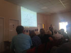 A lecture by Dr. Peter Foss in the Village Hall